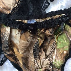 Natural Reflections Intimates & Sleepwear - Sexy Camo Babydoll Nightie & Panties